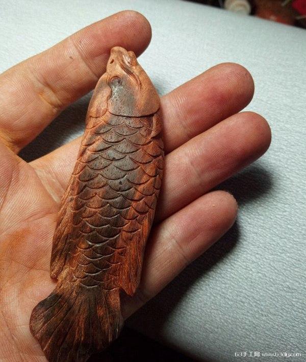 鹅蛋_金龙鱼的木雕手工教程_63手工网