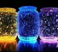 美丽的荧光瓶制作教程