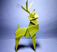 折纸鹿的折法步骤图解