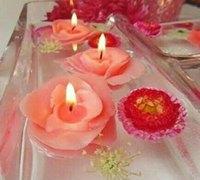 玫瑰花蜡烛-浪漫一夜