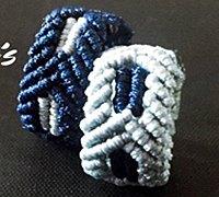 小清新绳戒的编织方法