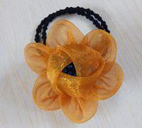 缎带头花的制作方法