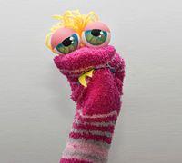 袜子玩偶之动物小蛇的制作方法